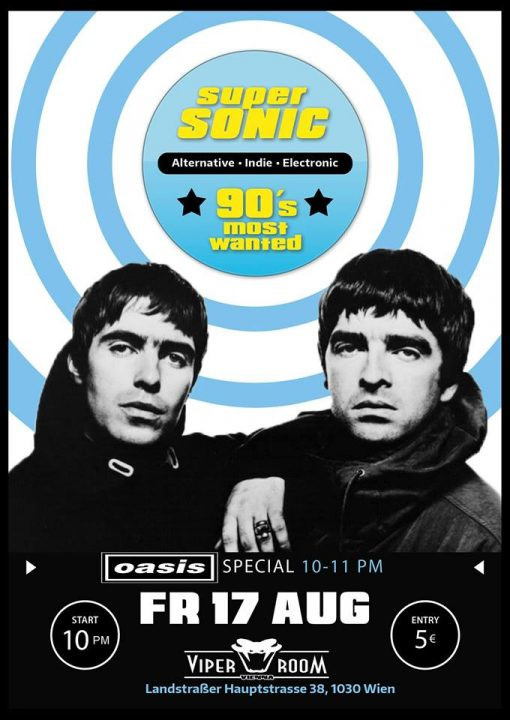 Supersonic - 90s Most Wanted am 17. August 2018 @ Viper Room.