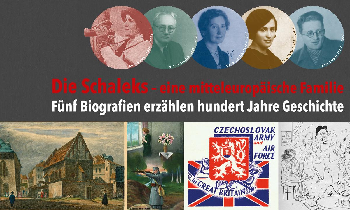 Die Schaleks – eine mitteleuropäische Familie am 28. April 2020 @ Fachbereichsbibliothek Zeitgeschichte.