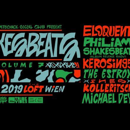 Shakesbeats Vol. 7.1 mit Eloquent, Kerosin95, uvm.