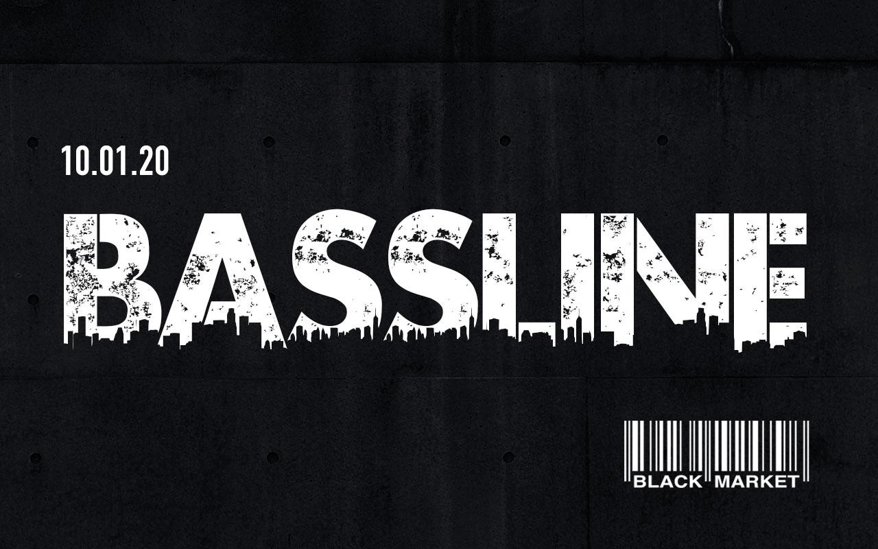 BASSLINE DnB Special am 10. January 2020 @ Black Market.