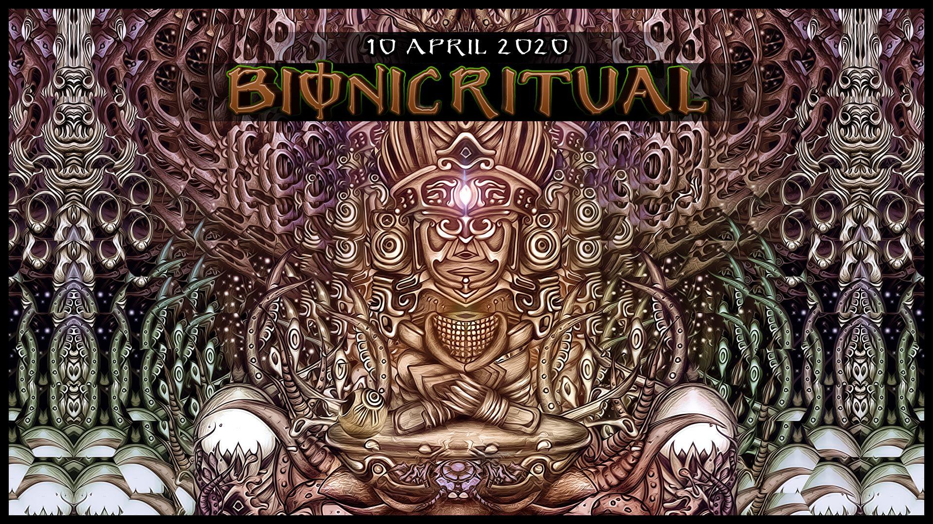 Bionic Ritual w/ Petran Live, Ianuaria Live, Muscaria Live am 10. April 2020 @ Arena 34.