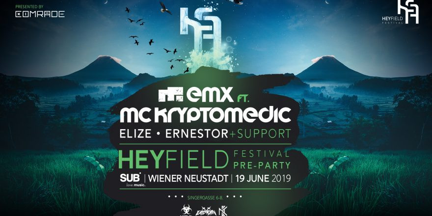 Heyfield Festival Pre Party presented by Comrade DNB