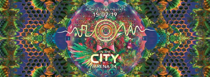 Flow in the City mit Egorythmia & E-Clip am 15. February 2019 @ Arena 34.