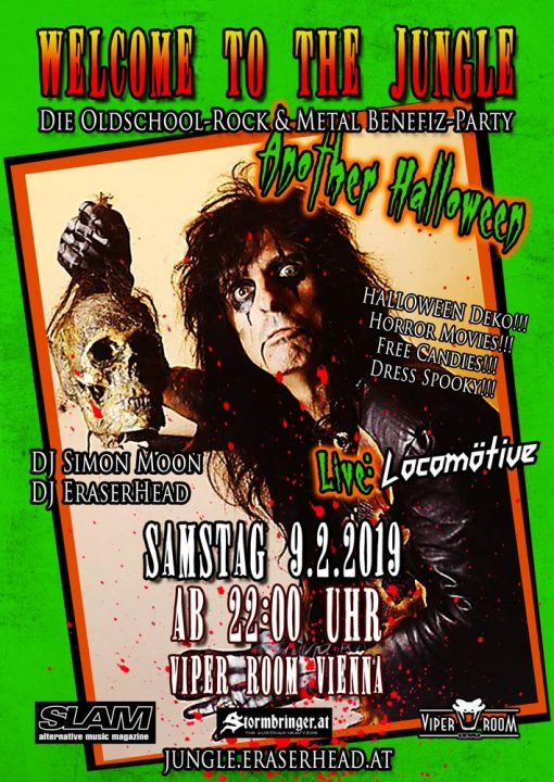 Welcome To The Jungle: Another Halloween - Live: Locomötive am 9. February 2019 @ Viper Room.