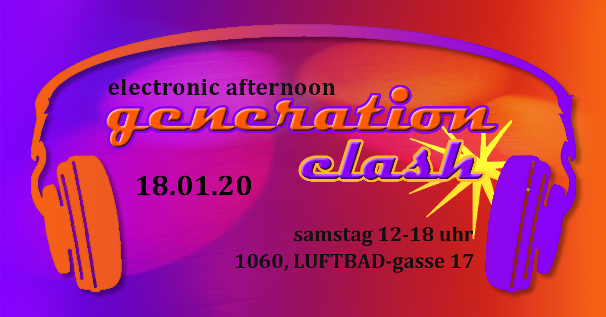 Electronic Afternoon - The Sound of different Generations am 18. January 2020 @ Luftbad.