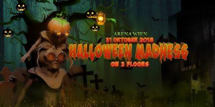 Halloween Madness mit Darktek, Nout Heretik & Yowii auf 3 Floors