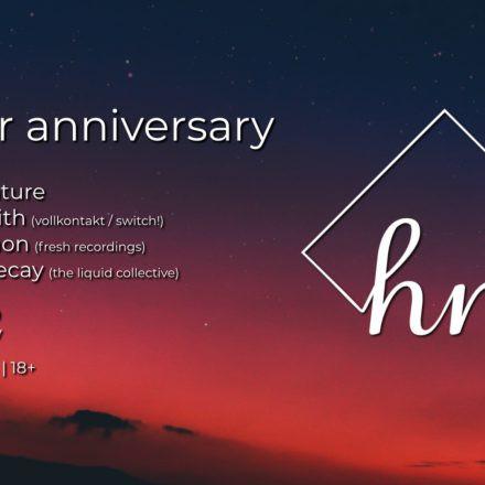 Higher Nature 1 Year Anniversary