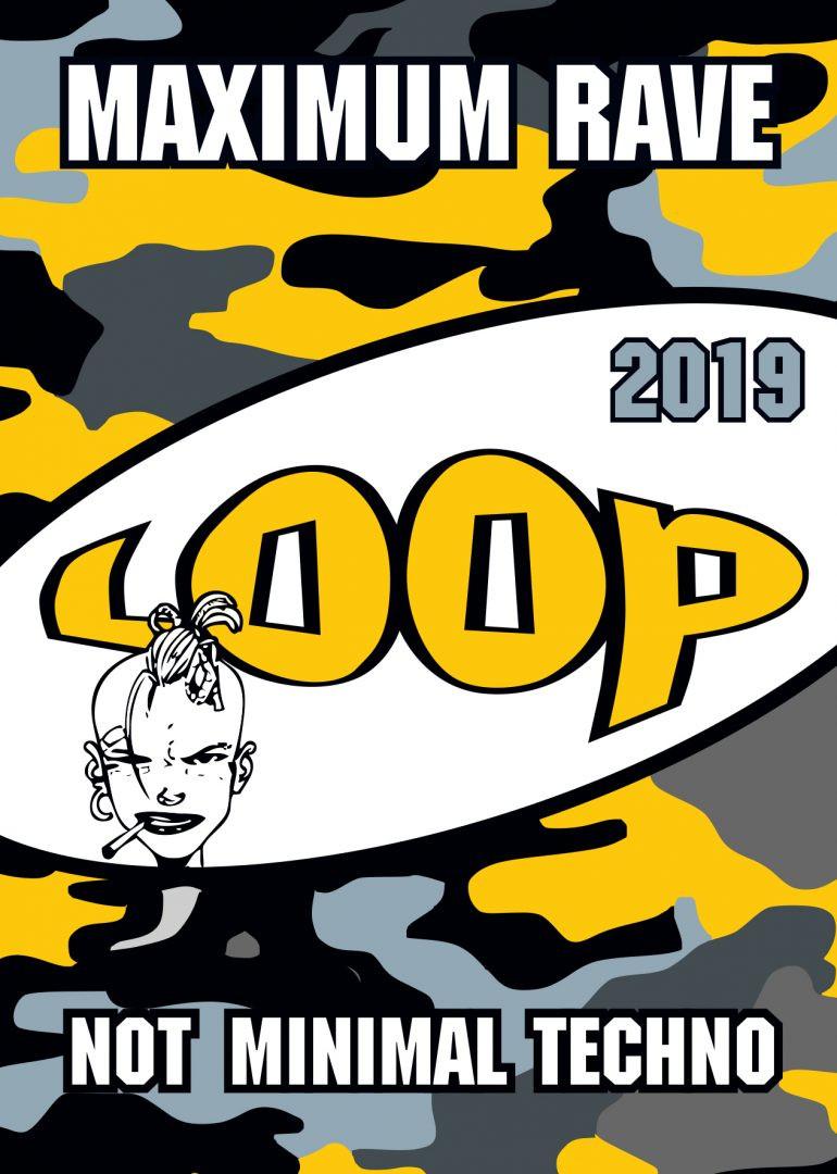 Oldschool LOOP 2019 am 4. January 2019 @ Fluc Wanne.