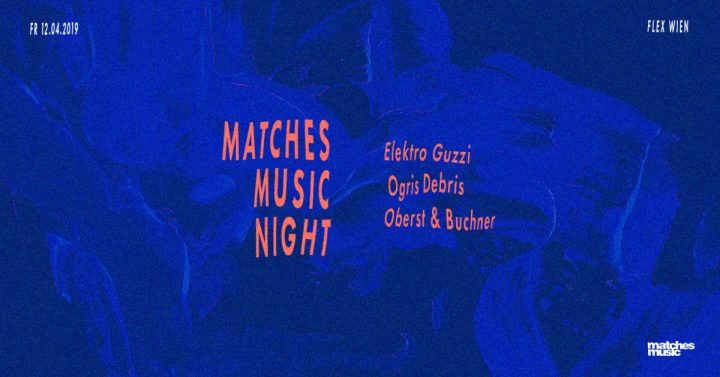 RRRelease Party: Elektro Guzzi x Ogris Debris x Oberst & Buchner am 12. April 2019 @ Flex.