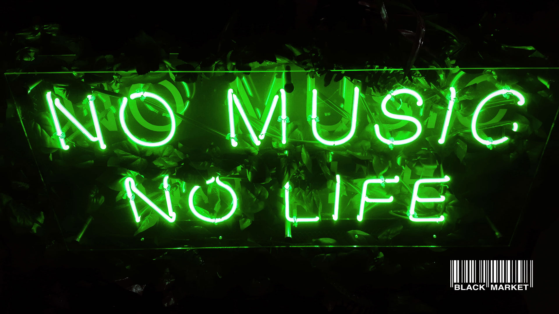No Music. No Life. (Free Party) am 11. January 2020 @ Black Market.