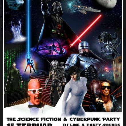 Lost in (Cyber) Space - The Science Fiction & Cyberpunk Party