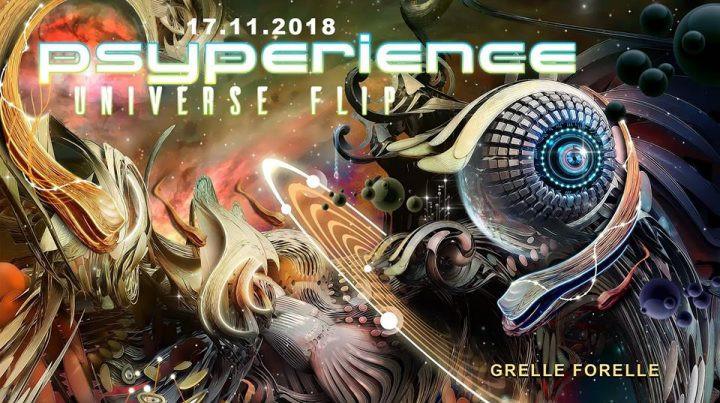 Psyperience mit Dark Whisper, Virtuanoise & TAS am 17. November 2018 @ Grelle Forelle.