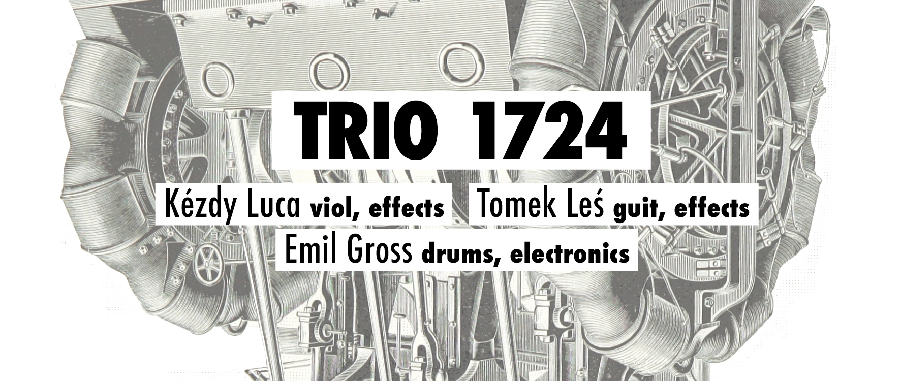 Trio 1724 am 7. February 2020 @ Villa For Forest.