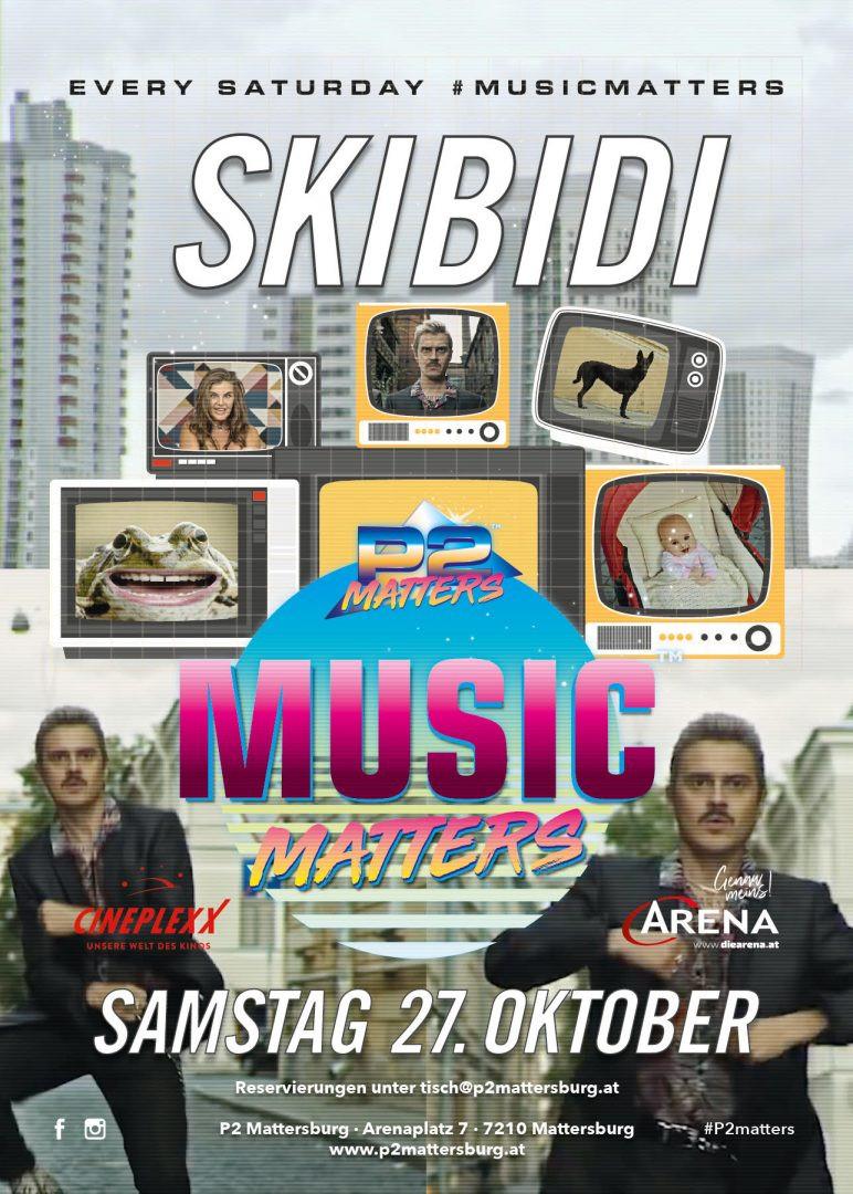 Music Matters - SKiBiDi // im P2 Mattersburg am 27. October 2018 @ P2 Mattersburg.