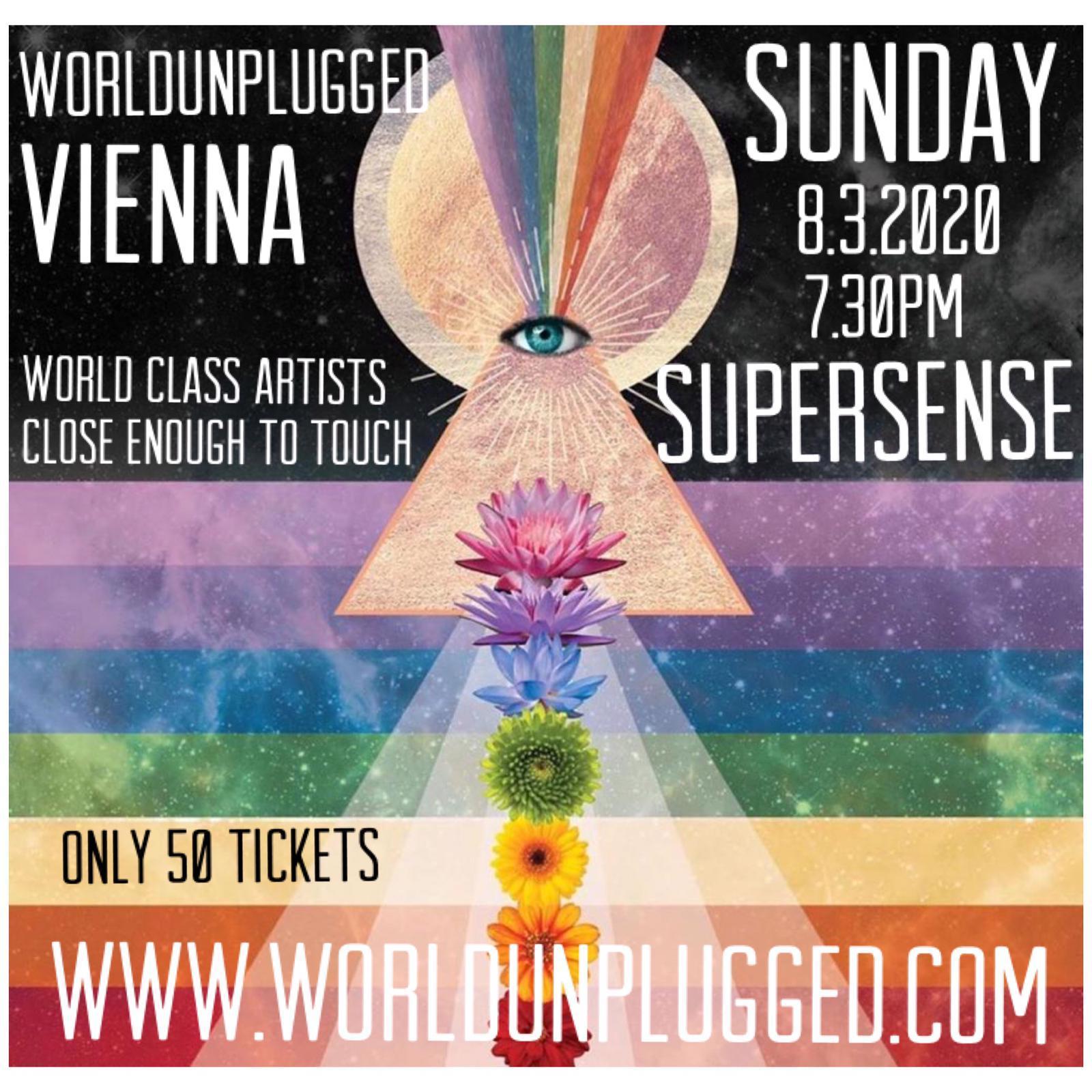 World Unplugged Vienna am 8. March 2020 @ Supersense.
