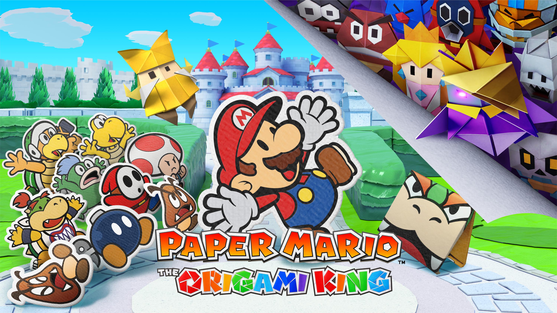 2D-Mario zum Falten