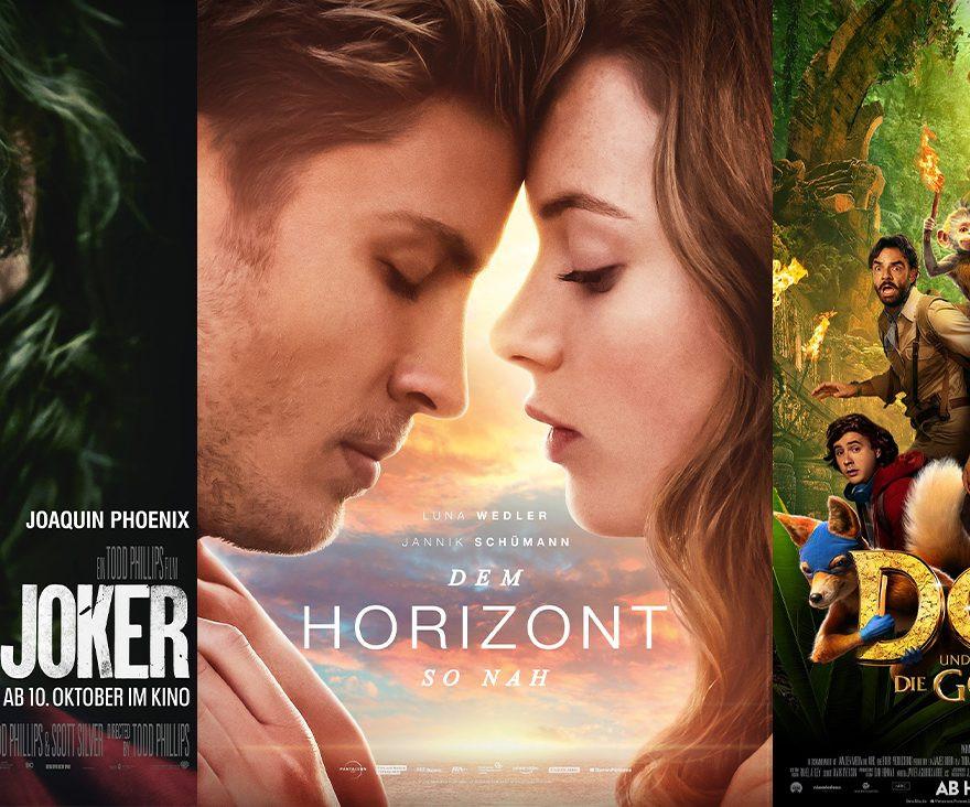 Dem Horizont so nah | Joker | Dora und die goldene Stadt - diese Woche neu im Kino!