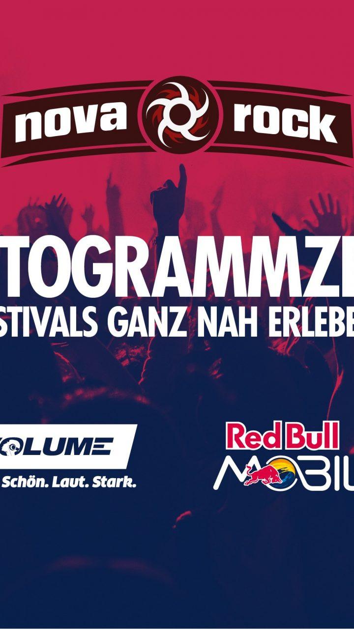 Nova Rock 2018: VOLUME Autogrammzelt powered by Red Bull MOBILE