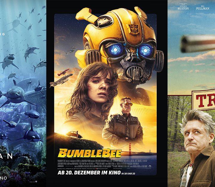 Bumblebee   Aquaman   Trouble - alles Leinwand!