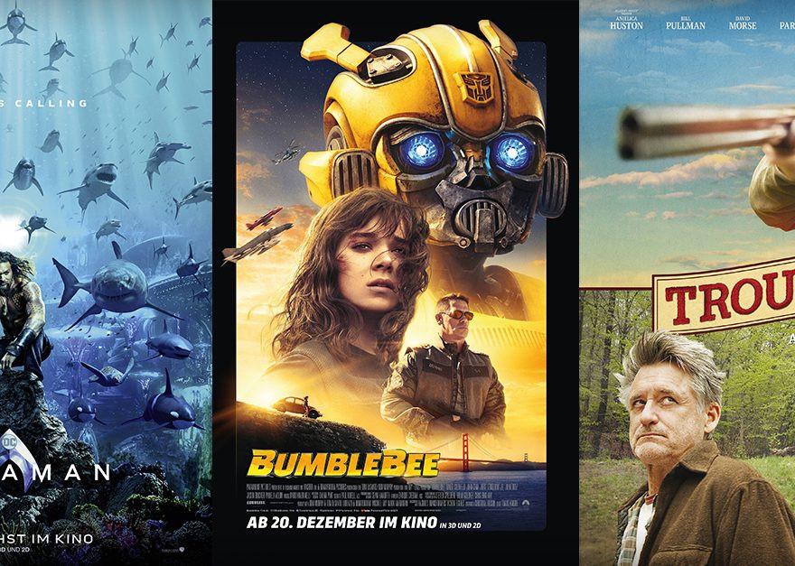 Bumblebee | Aquaman | Trouble - alles Leinwand!
