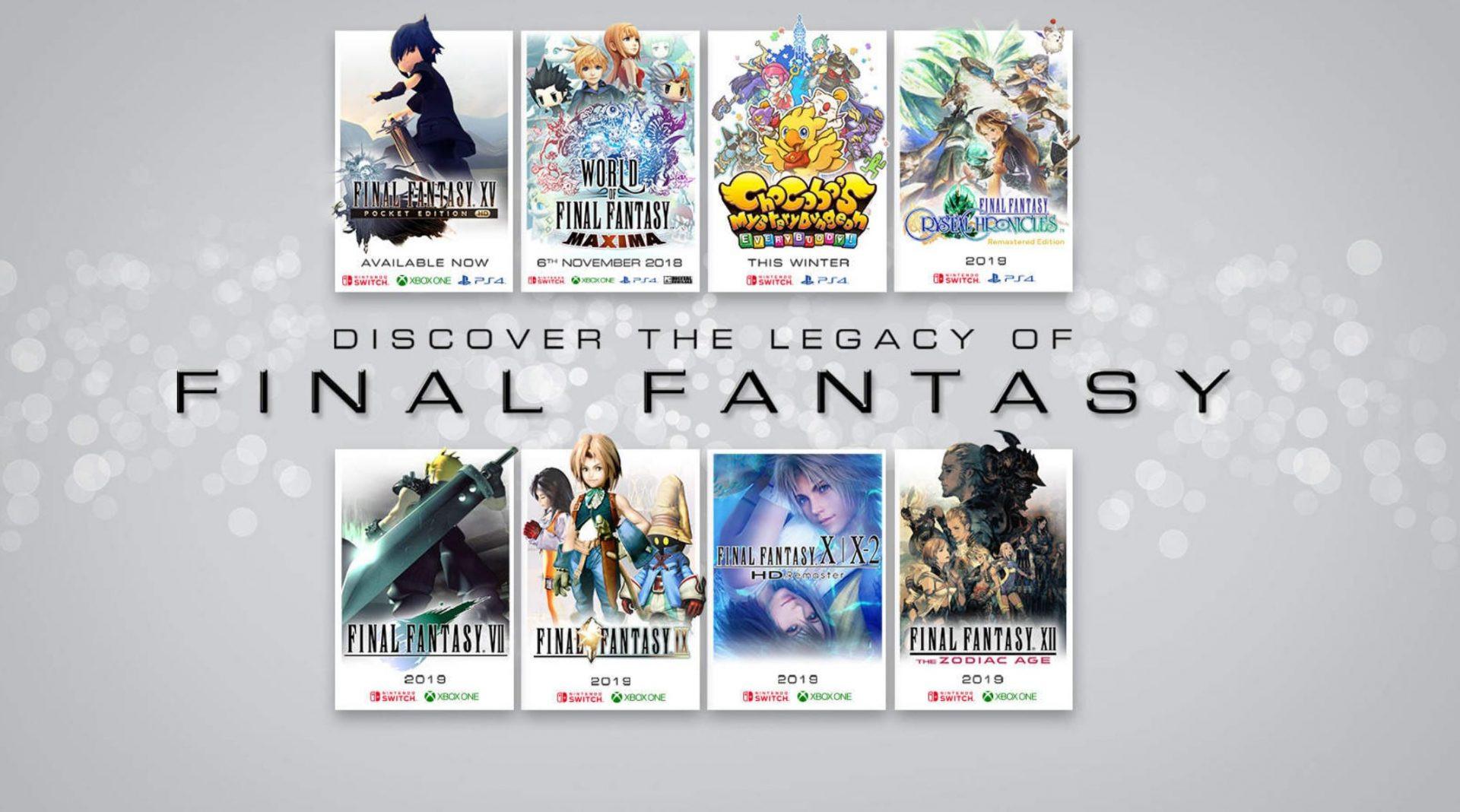 Final Fantasy Games