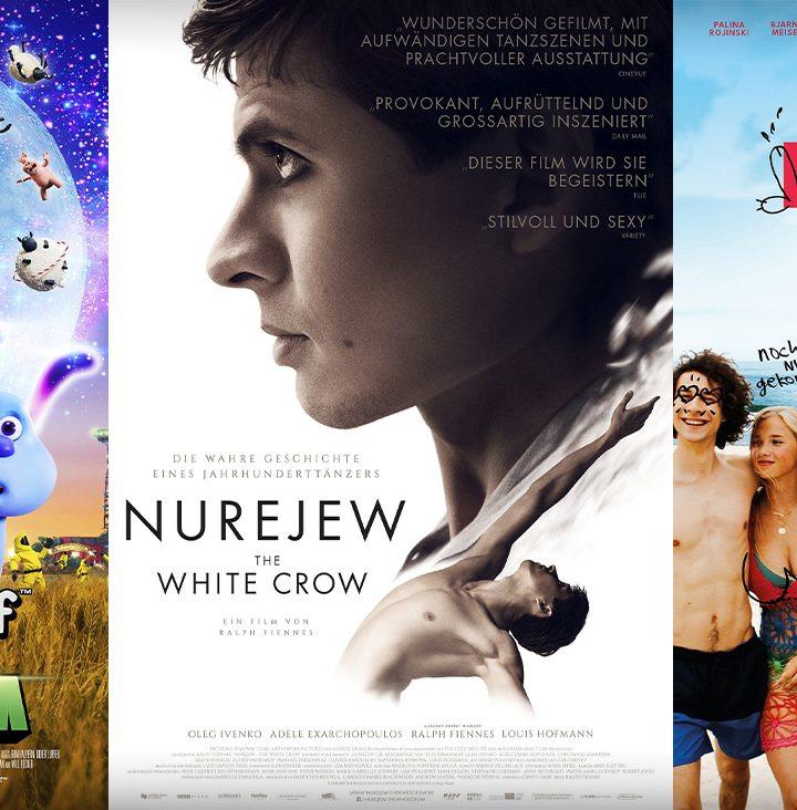 Get Lucky | Nurejew - The White Crow | Shaun das Schaf - diese Woche neu im Kino!