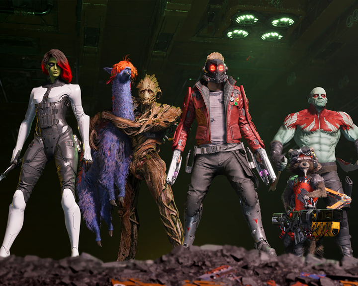 Marvel's Guardians erobern die Konsolen!