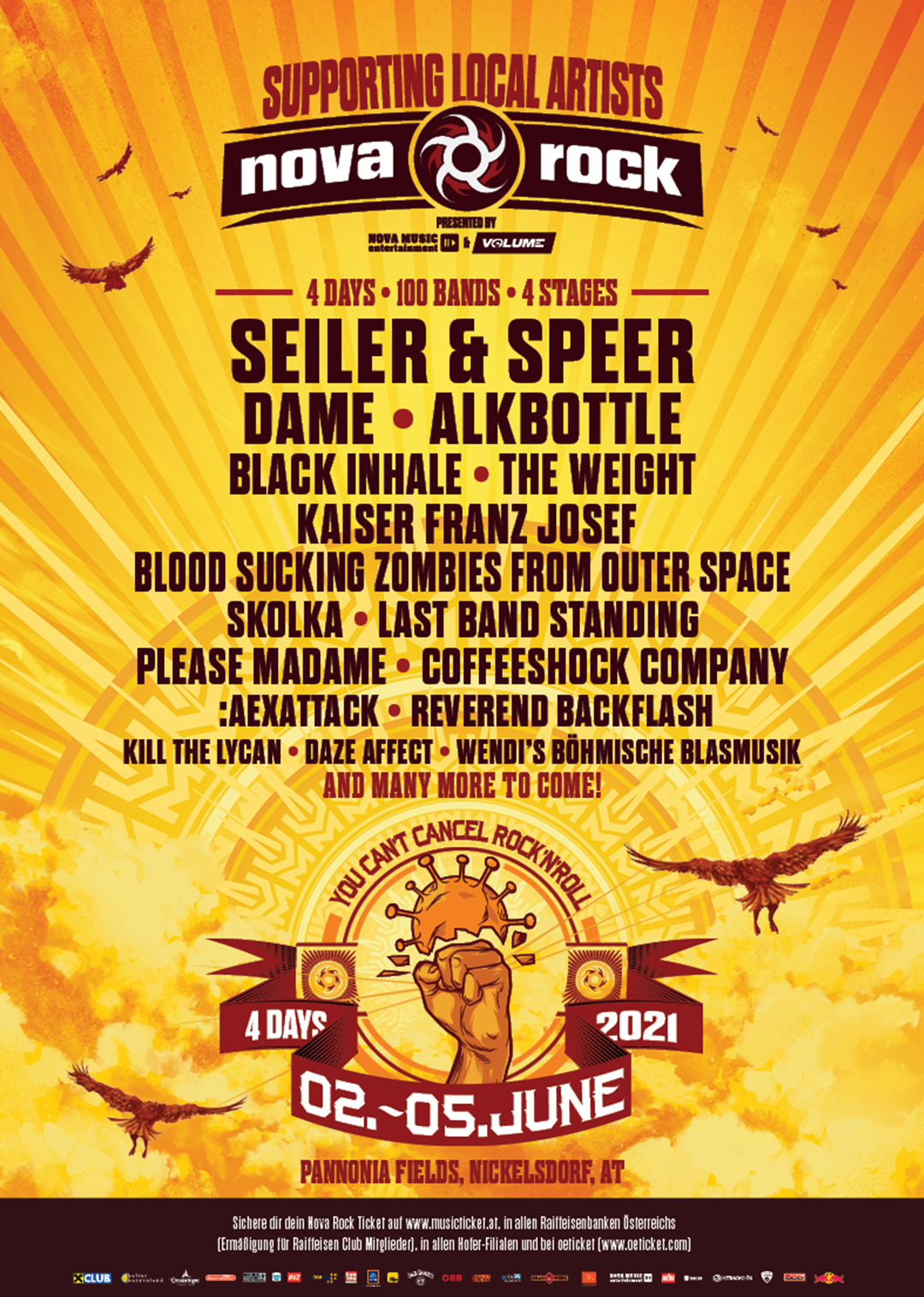 Rock Am Park 2021 Line Up