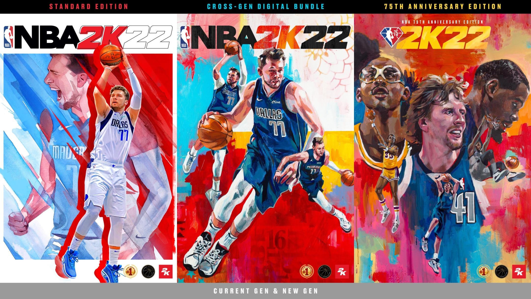 NBA 2K22 mit 75th Anniversary Edition angekündigt!
