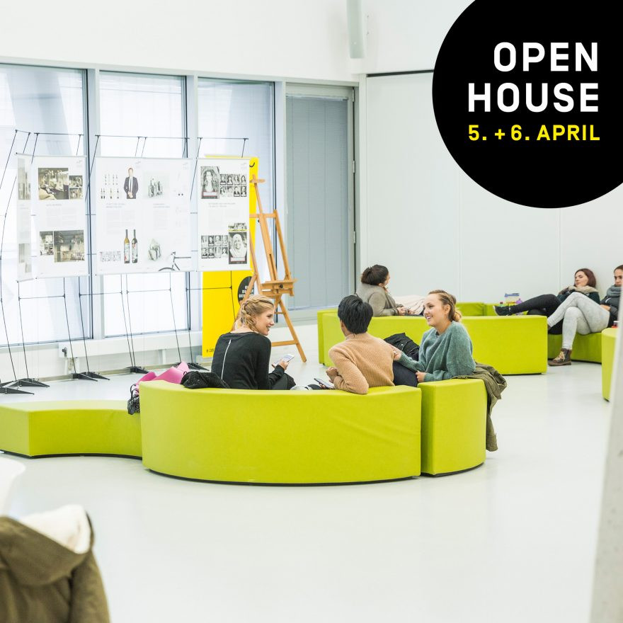 Open House an der New Design University 5. + 6. April