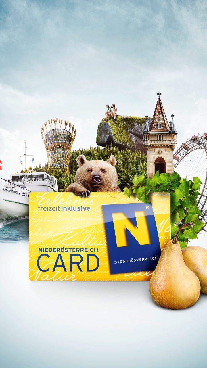 NÖ-Card: Digitaler Start in die neue Saison