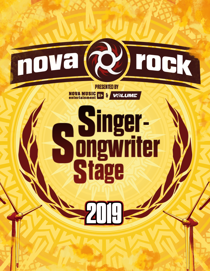 Singer-Songwriter Stage am Nova Rock 2019: Timetable