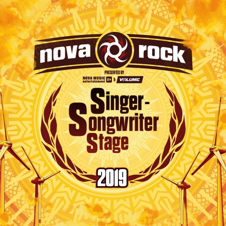 Singer-Songwriter Stage am Nova Rock 2019: Timetable