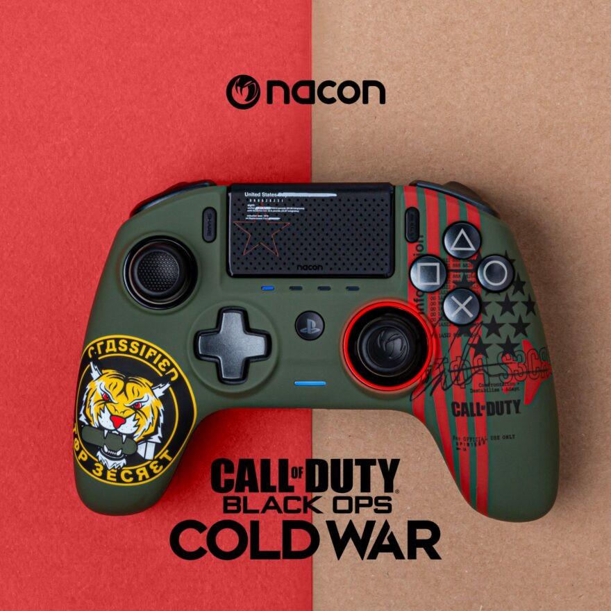 NACON präsentiert Cold War PRO Controller