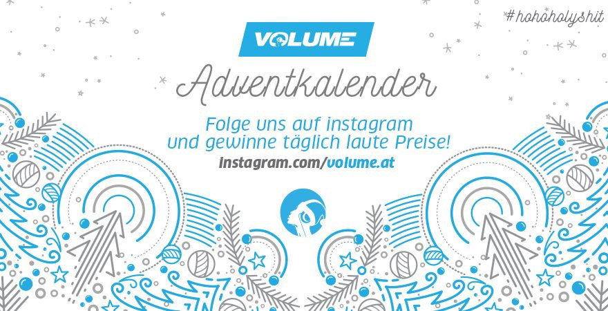 Der VOLUME Adventkalender 2018