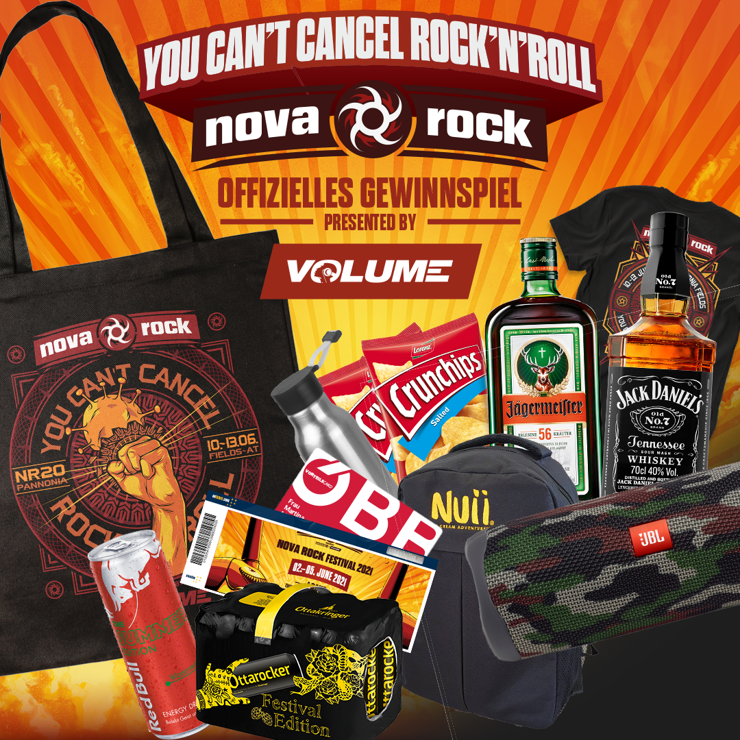 Gewinne vier VOLUME Festivalbags!