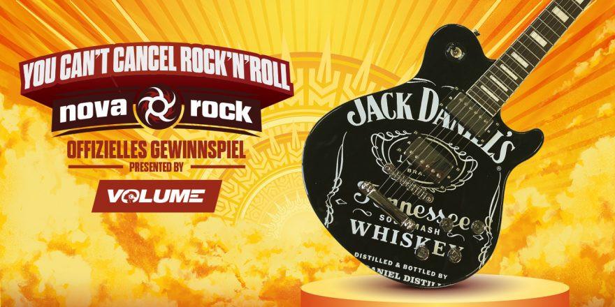 Gewinne eine E-Gitarre von Jack Daniel's!