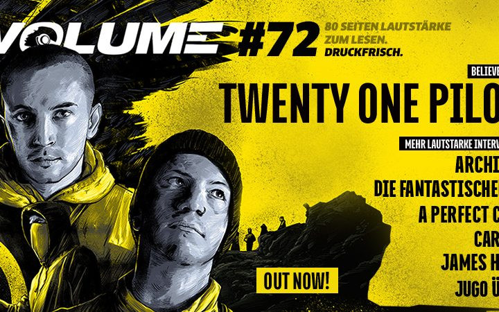 Breaking News - VOLUME #72 ist da!