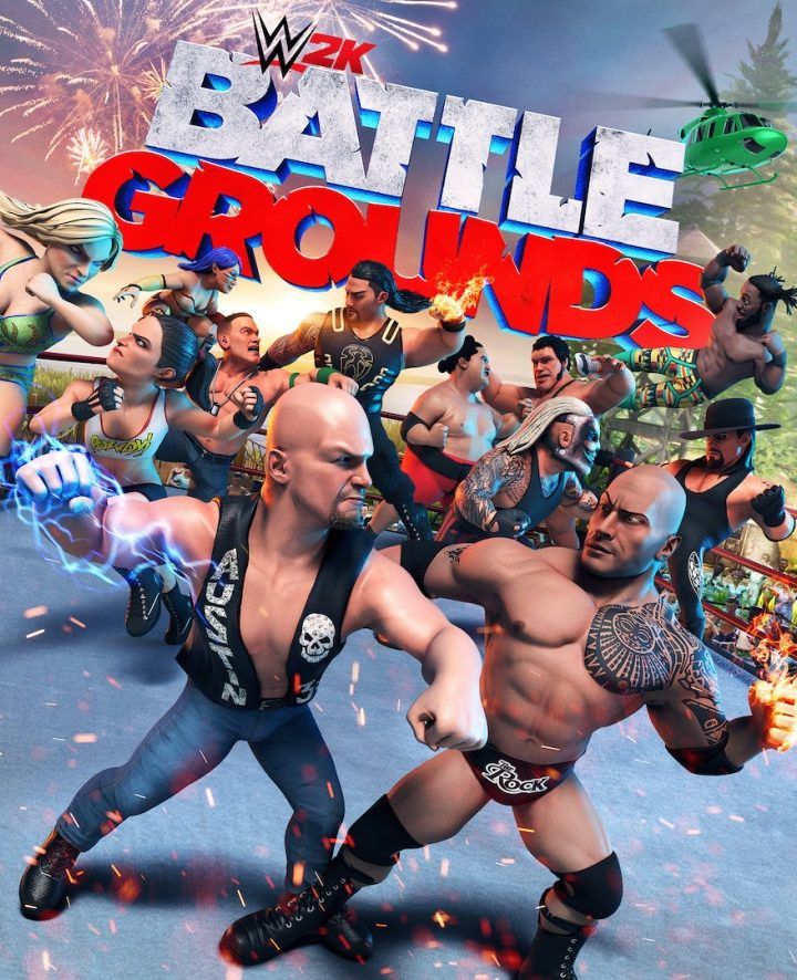 WWE 2K Battlegrounds kommt