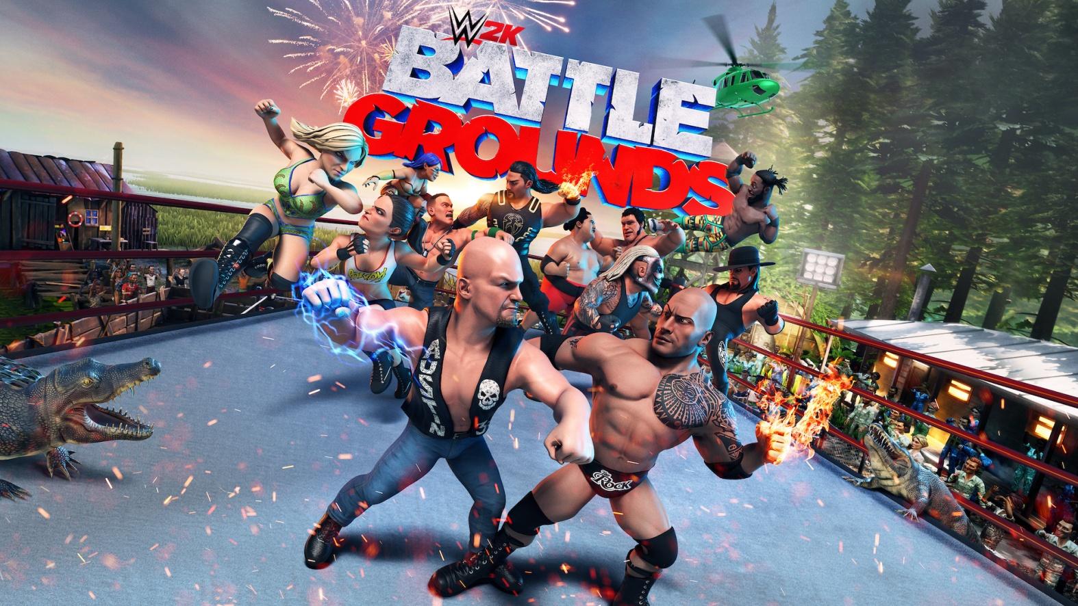 WWE 2K Battlegrounds kommt