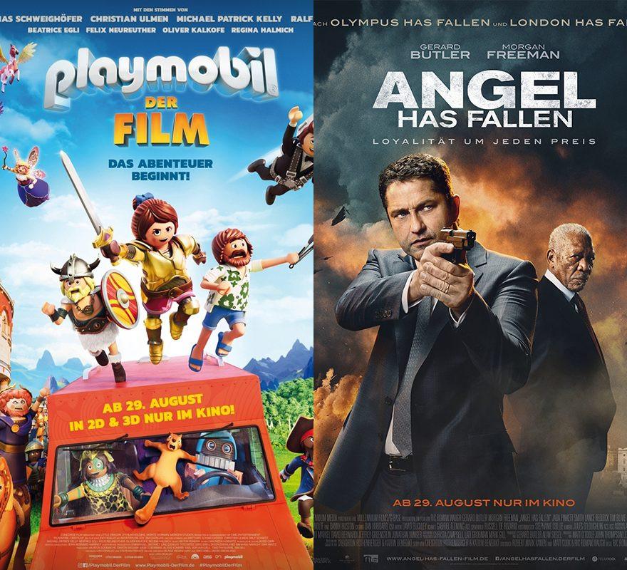 Angel Has Fallen | Late Night | Playmobil | Bier | Mein Lotta-Leben | Die Agentin | Paradise Hills - für jeden was dabei!