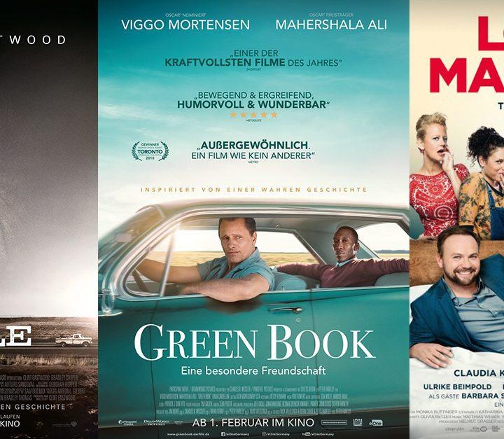 Green Book   The Mule   Love Machine - alles Leinwand!