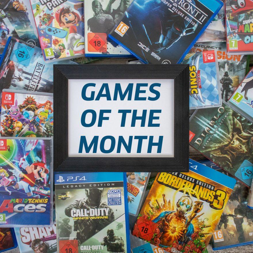 Die Games im Jänner