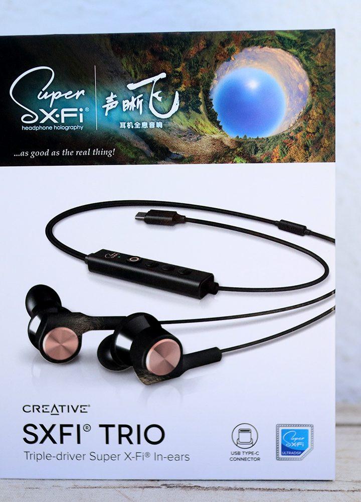 Creative SXFI Trio In-ear Headphones