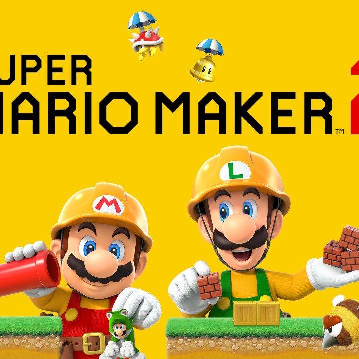 Super Mario Maker 2 Logo