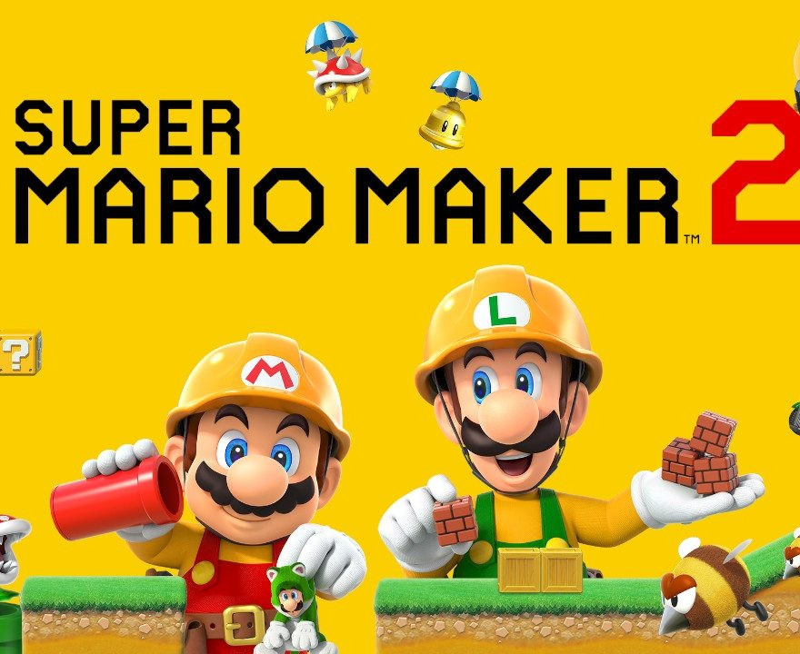 Super Mario Maker 2 Logo