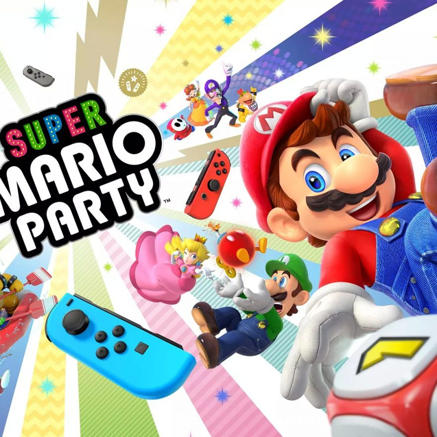 Super Mario Party - Title