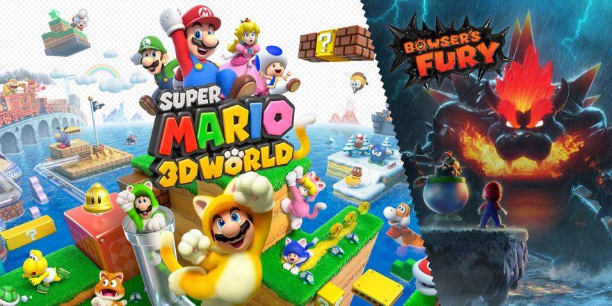 Mario plus Mario light