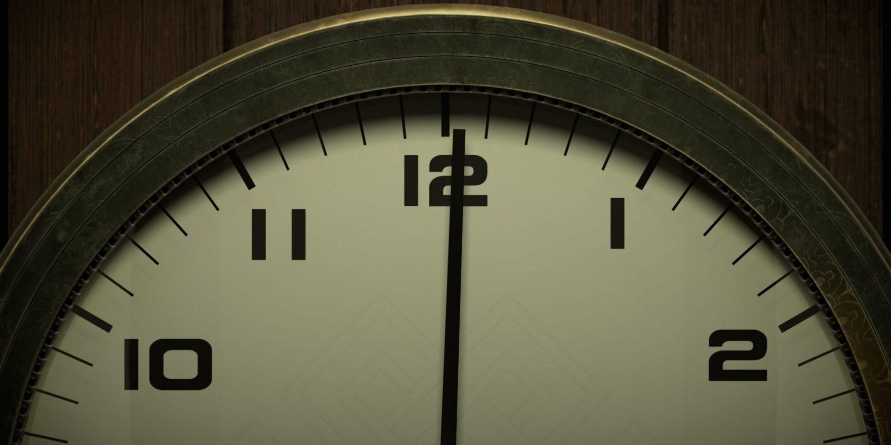 Zwölf Minuten können lang sein