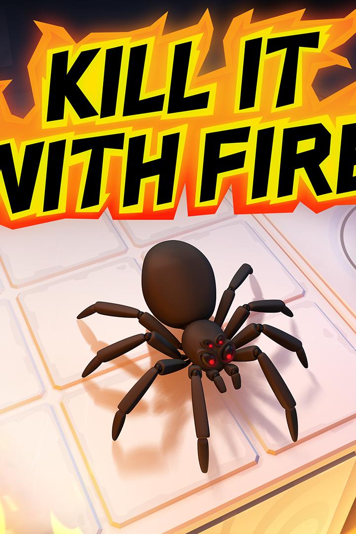 So wollten wir Spinnen immer schon töten...